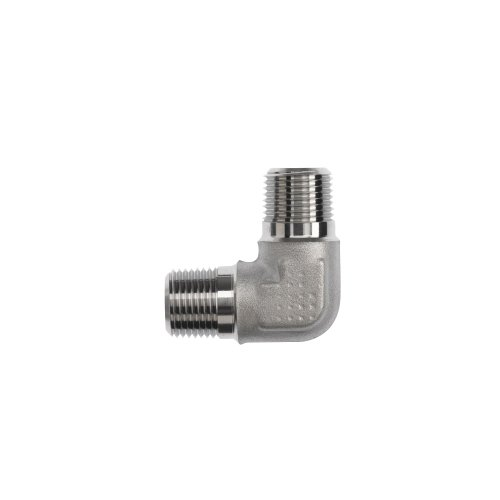 Brennan 5500-16-16-FG Forged Steel Pipe Fitting, 90 Degree Elbow, 1-11-1/2 x NPTF ()