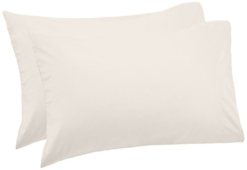 500 Tc Pillow - Pinzon 500-Thread-Count Pima Cotton Sateen Pillowcases - Standard, Canvas (Set of 2)