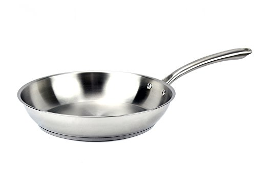 Excelife JBEL2028 Jb Cookware Elegna Stainless Steel Induction Fry Pan, 11 , Silver
