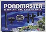 Pondmaster 02180 18 LED Light Ring & Fountain Head