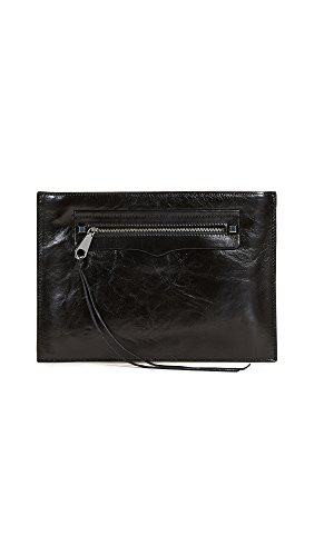 Rebecca Minkoff Women's Regan Clutch, Black, One Size by Rebecca Minkoff