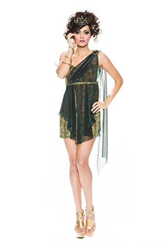 Delicious of NY Women's Venomous Vixen Adult Costume, Multi, Extra-Small -