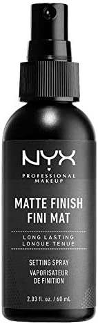 NYX Professional Makeup Make Up Setting Spray, Matte Finish/Long Lasting