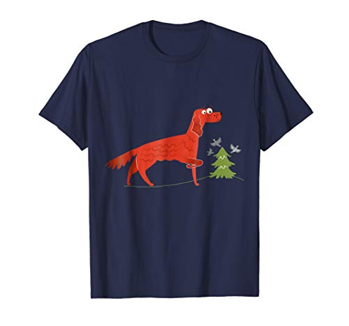 Irish Red Setter T-Shirt - Irish Setter Dog Lover ()