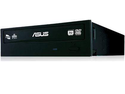 Asus Drw-24f1st Dvdrw Sata 24x Black Bulk Pack With Plastic Beg Only. by Asus