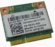 5GC50 - WiFi Card Qualcomm Atheros QCWB335; DW1075 Mini PCI-E 802.11b/g/n; Bluetooth 4.0 Latitude (Qualcomm Atheros Model Qcwb335)