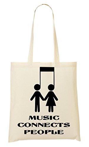 CP Music Connects Sac Fourre-Tout Sac À Provisions