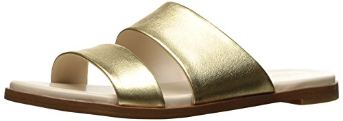 Cole Haan Women's Anica Slide Sandal, Gold/Metallic, 10 B US by Cole Haan
