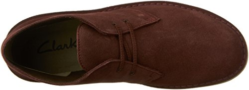 Clarks Us Bordeaux black 13 M 2 Men's Bushacre Boot Suede Oq8SZwOr