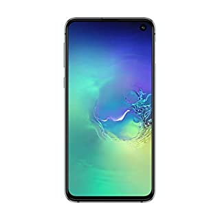 "Samsung Galaxy S10e 128GB+6GB RAM SM-G970 Dual Sim 5.8"" LTE Factory Unlocked Smartphone (International Model) (Prism Green) (Renewed)"