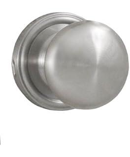 Weslock 00600ININSL20 Impresa Knob, Satin Nickel