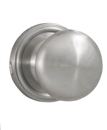 weslock 00605in0020 impresa dummy knob satin nickel - Weslock