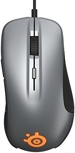 Steelseries Rival 300 Optische Gaming Maus Rgb Beleuchtung 6 Tasten Gummierte Seitliche Griffflächen Farbe Gunmetal Grey Games
