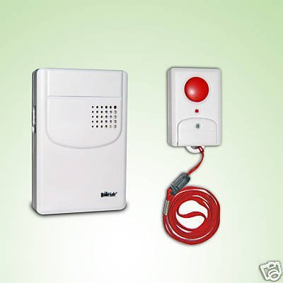 S4-NEW WIRELESS PANIC BUTTON AND ALERT ALARM CHIME: Amazon.co.uk ...