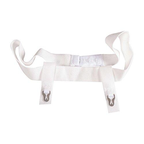 (Duro-Med Plush Elastic Sanitary Belt with Moveable Tabs, Adjustable Closure, 1