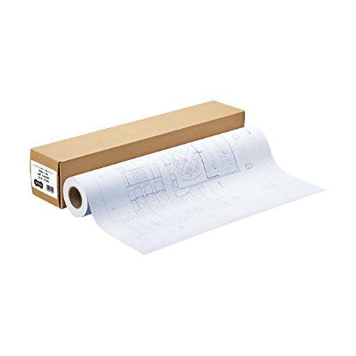 (まとめ) TANOSEE インクジェット用コート紙 HG3厚手マット 44インチロール 1118mm×30m 1本 〔×2セット〕 B075B2G1ZH