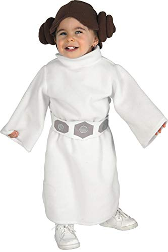 Rubie's Star Wars Princess Leia Romper, White, 1-2 years -