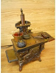Cast Iron Wood Burning Stove Replica ()