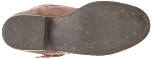 Steve Madden Outtlaww la bota del tobillo Taupe Suede