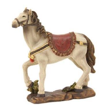 Miniatur Modell Figur Pferd Höhe 12 cm geeignet für 9-11cm Figuren Zisaline