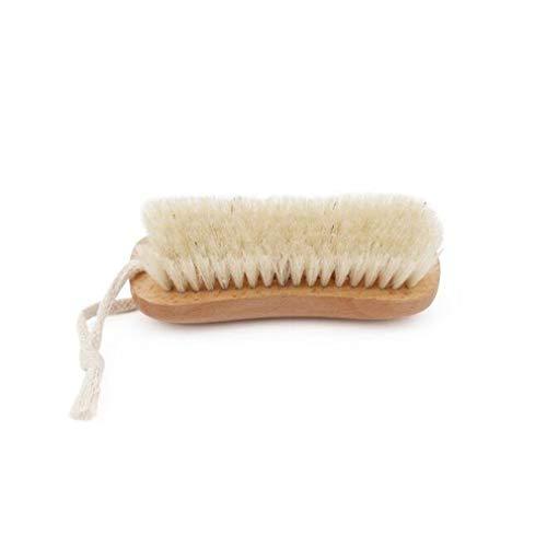 Union Fiber Brush - UINKE Wooden Cleaning Brush Scrub Brush Clothes Brush with Rope Hook