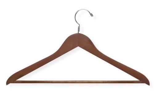 Honey-Can-Do HNG-01207 Basic Suit Hanger Non-slip Bar 32-Pack Cherry [並行輸入品] B07N8DZ248