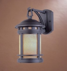 Designers Fountain 2391-AM-ORB Sedona Wall Lanterns, Oil Rubbed Bronze