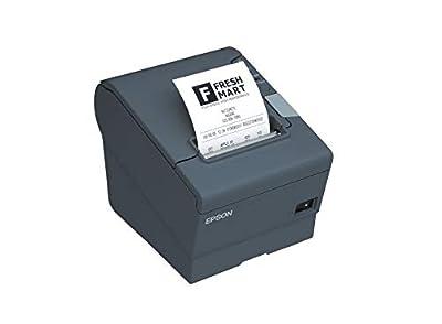 Epson C31CA85791 TM-T88V-I Omnilink Thermal Receipt Printer, TM-I Interface, Serial, with Power Supply, Black