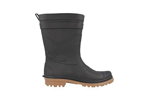 Bockstiegel Dirk - Herren Gummistiefel - Grün Schuhe in Übergrößen Schwarz