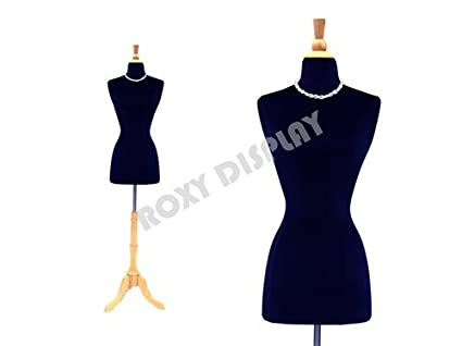 BS-04+JF-FWPW-4 ROXYDISPLAY/™ New Design Female Body Form Size 2-4 with Base