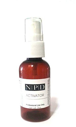 NPD Spray-On Activator 2oz + Pre-cut Silk Wrap (Nail Resin Activator compare prices)