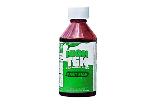 High Tek Relaxation Syrup Kandy Green Flavor (4 Fl Oz Bottle) ...