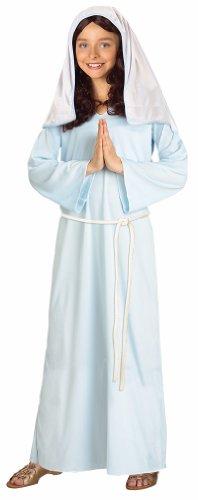 [Virgin Mary Kids Costume - Small] (Girls Virgin Mary Costume)