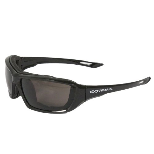 Radians XT1-21 Extremis Full Black Frame Safety Glasses with
