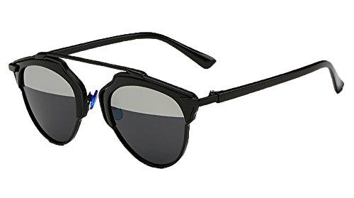 [Ralink Polarized Sunglasses Cat Eye UV TAC Lens Metal Retro Glasses for Womens] (Panto Costumes For Kids)