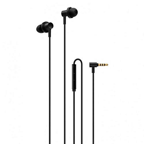 (Xiaomi Professional Store Hybrid Dual Mi Hybrid Earphone in-Ear Headphones Multi-Unit Circle Iron Mixed Piston Earphones, Silver (ZBW4423TY) - 2nd Generation)