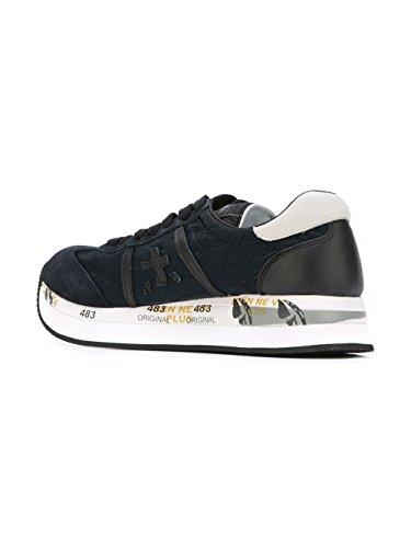 PREMIATA Sneakers Blu Conny1491 Donna Pelle qf6UTq