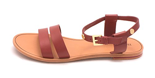 Sandals Hammitt Strap Ankle Toe Leather Nova Chase Brushed Gold Casual Womens Open UwUBCx