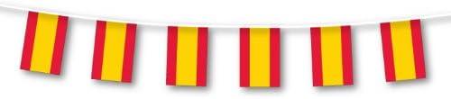 amscan - Guirnalda de banderines de España (3 m): Amazon.es: Hogar
