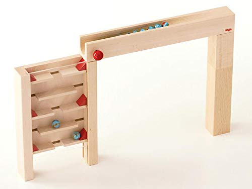 - HABA Skyscraper - Marble Ball Track Accessory (Made in Germany)