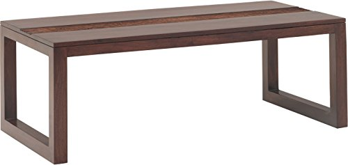 Rajasthan Crafts Ritz Solid Wood Coffee Table (Wenge Finish, Brown)