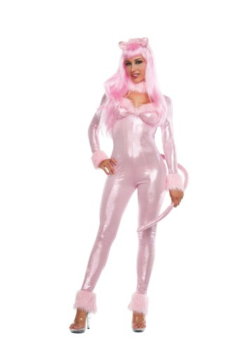 Starline Costumes Sweet Panther, Pink, Large