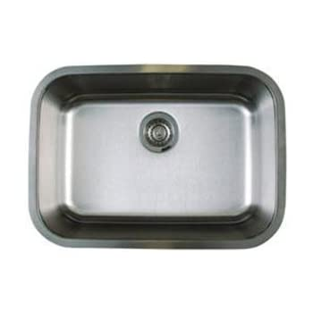 Blanco BL441025 Stellar Medium Single Bowl Undermount Sink, Refined Brushed