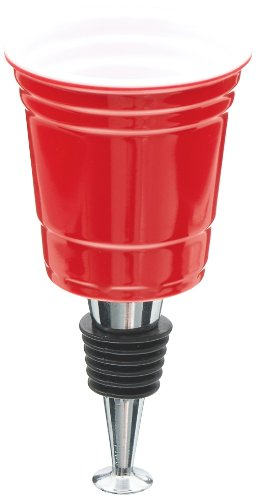 Carson Home Accents The Original RedNek Red Solo Cup Bottle Stopper