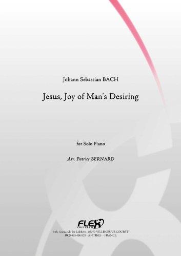 CLASSICAL SHEET MUSIC - Jesus, Joy of Man's Desiring - J.S. BACH - Solo Piano ()