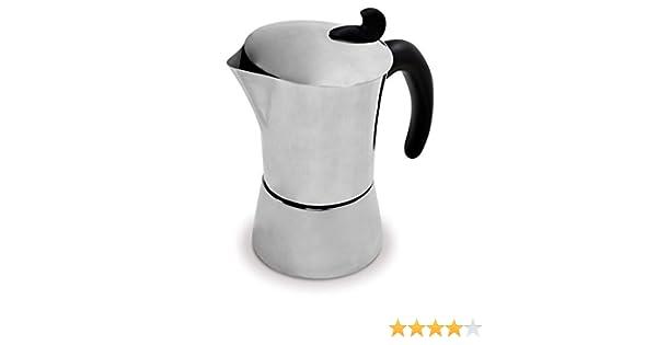 Jata Hogar CAFETERA Italiana INDUCCION INOX, Gris: Amazon.es: Hogar