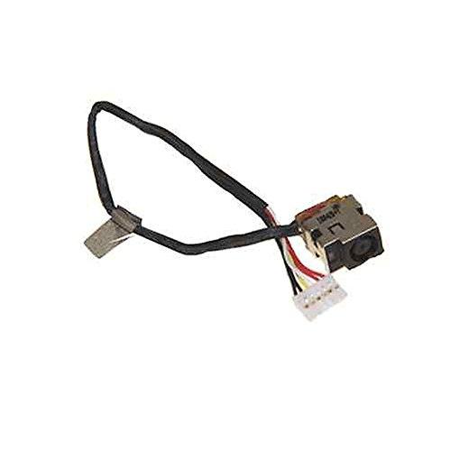 New Ac Dc-in Power Jack Plug Input Port w/Cable Harness Connector Socket for HP PAVILION DV6-1334US DV6-2114SA DV6-2115AX DV6-2115EA DV6-2150CA DV6-2157US