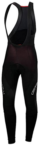 - Castelli Sorpasso Wind Bib Tights - Men's Black/Black, L