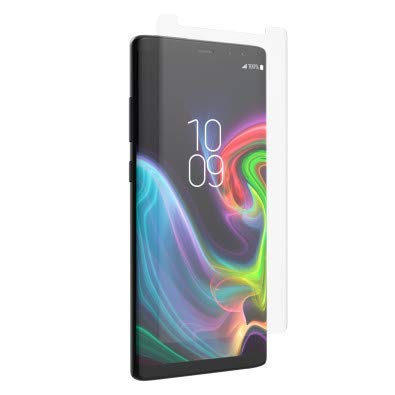 Invisibleshield Screen Film - ZAGG InvisibleShield HD Ultra - Advanced Clarity + Shatter Protection - Film Screen Protector Made for Samsung Note 9