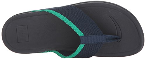 outlet store Locations cheap sale wide range of FitFlop Women's Surfa Flip-Flop Midnight Navy/Parakeet Green sale Inexpensive cheap best place ptTBEoZ4